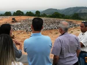 Visita técnica foi realizada nesta terça-feira (29) (Foto: Prefeitura de Formiga/Divulgação)