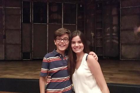 Camila Queiroz e Xande Valois (Foto: Gustavo Bakr)