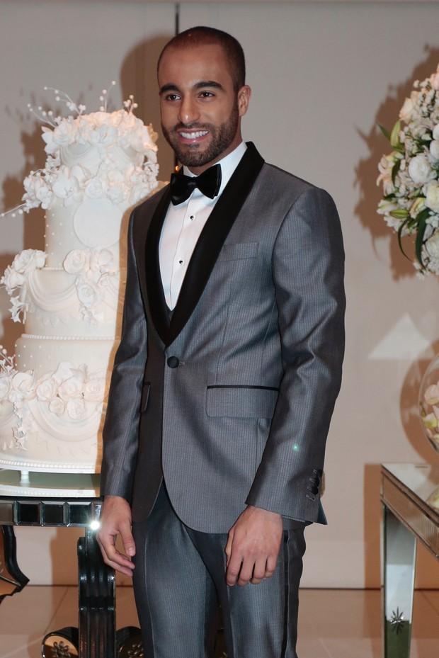Casamento do jogador Lucas Moura (Foto: Rafael Cusato/EGO)
