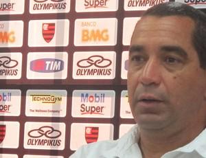 Coletiva Zinho Flamengo (Foto: Richard de Souza / globoesporte.com)