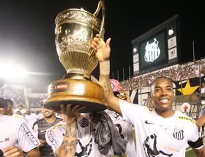 Robinho santos campeão paulista (Foto: Alex Silva/Agência Estado)