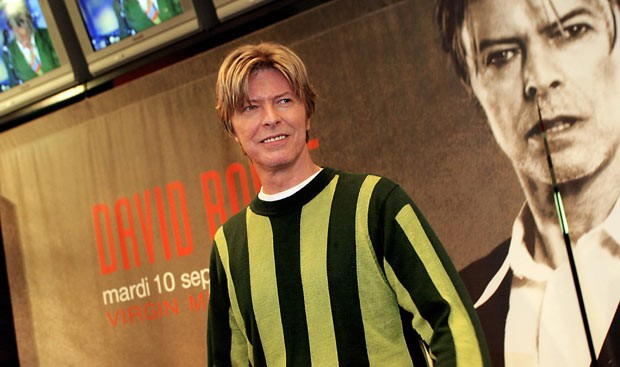 David Bowie em 10 de setembro de 2002 (Foto: AFP)