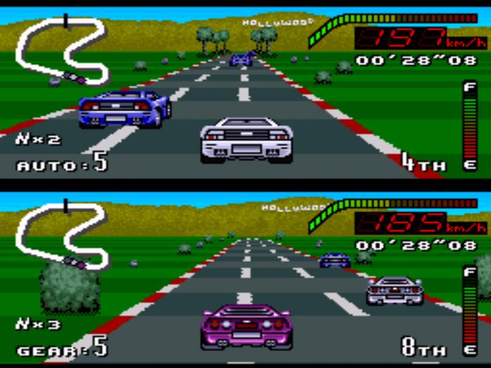 Top Gear (Foto: Reprodução/Retro Gaming) (Foto: Top Gear (Foto: Reprodução/Retro Gaming))
