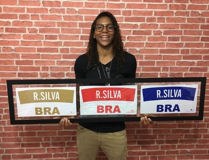 Rafaela Silva conquistou o ouro na Rio 2016 (Foto: Arquivo Pessoal)
