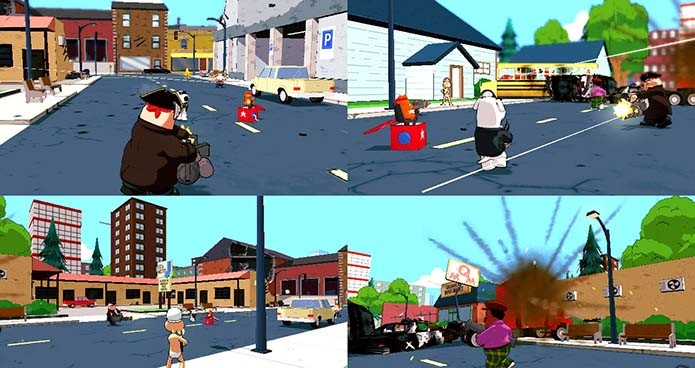 Jogos de Family Guy pecavam pela falta de criatividade(Foto: Reprodução)