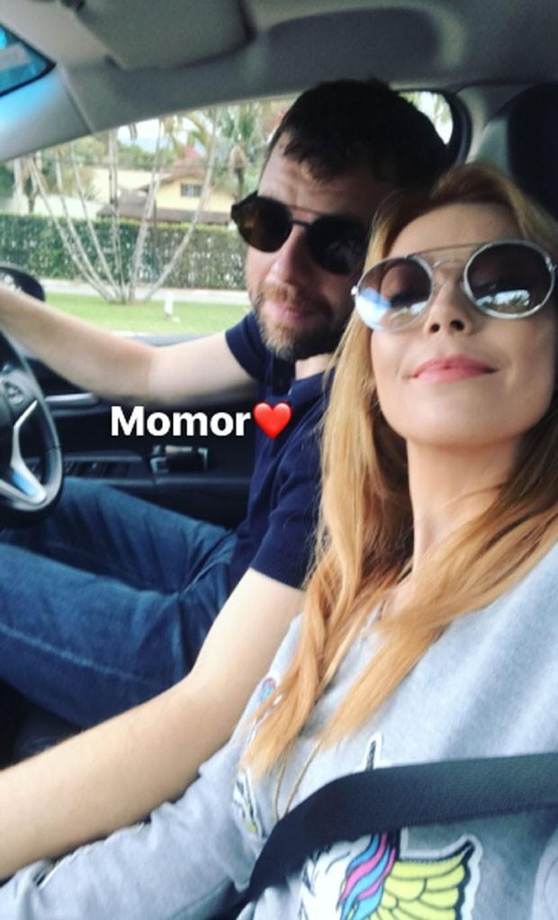 Luiza Possi e o namorado (Foto: Reprodução)