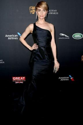 Victoria Summer em premiação em Los Angeles, nos Estados Unidos (Foto: Frederick M. Brown/ Getty Images/ AFP)