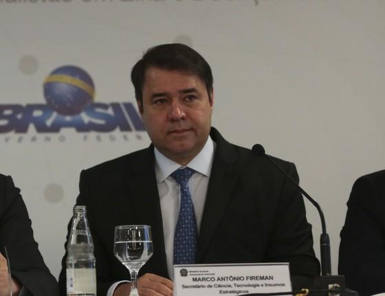 Marco Fireman, secretário da Ciência, Tecnologia e Insumos Estratégicos (SCTIE) do Ministério da Saúde (Foto: José Cruz/Agência Brasil)
