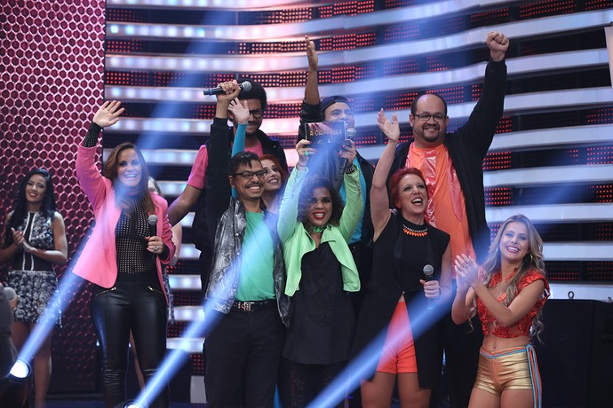 SetBlack ficou com o terceiro lugar da competição (Foto: Carol Caminha / Gshow)