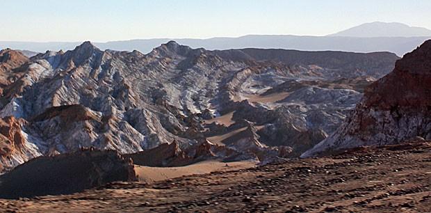 Valle de la Luna (Foto: Dennis Barbosa/G1)