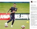 """Daniel Alves cria hashtag para brincar com fama: """"Que seja um bom louco"""""""