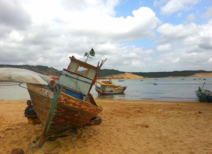 Praia de Baía Formosa-RN (Foto: Lidiane Medeiros)