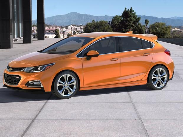 Novo Chevrolet Cruze Hatch (Foto: Divulgação)
