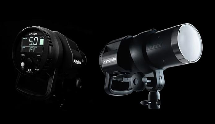 Flash externo inovador da Profoto se conecta com a câmera sem o uso de fios (Foto: Divulgação/Profoto)