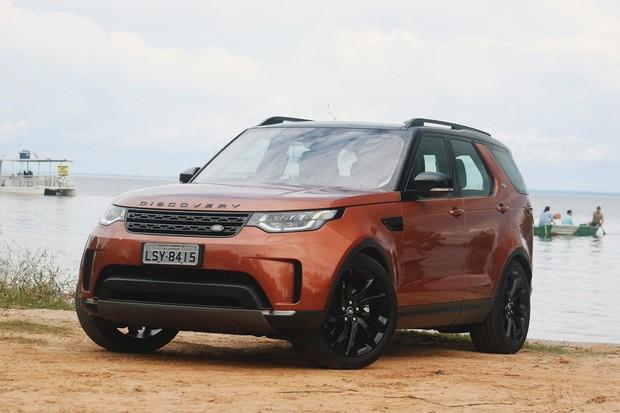 Land Rover Discovery 5 tem duas opções de motorização (Foto: Divulgação)