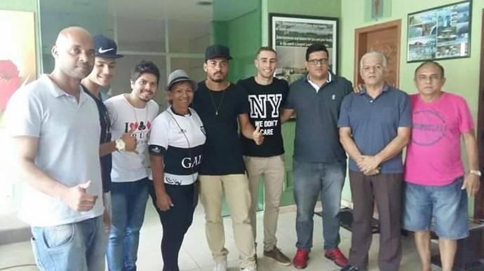 Rio Negro apresentação jogadores (Foto: Divulgação/Rio Negro)