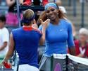Serena avança fácil em Toronto; com lesão no abdômen, Bartoli abandona