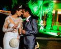 Musas do vôlei prestigiam casamento da ex-miss e jogadora Luciane Escouto