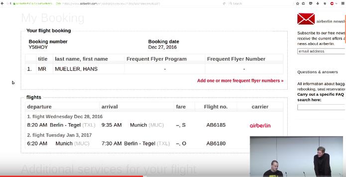 Com o golpe, hackers podem acessar todos os detalhes de seu voo (Foto: Reprodução/Felipe Vinha)