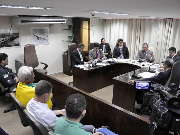 Comissão de Constituição, Justiça e Redação da Assembleia Legislativase reuniu nesta terça-feira (Foto: Divulgação/Assembleia Legislativa)