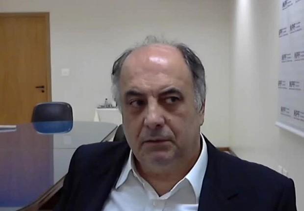 O ex-diretor do Departamento de Operações Estruturadas da Odebrecht, Hilberto Mascarenhas da Silva Junior (Foto: Reprodução/YouTube)