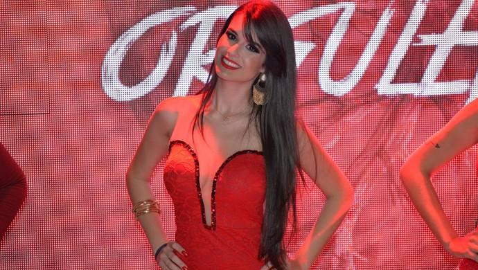 Marina Veríssimo, musa do Vila Nova (Foto: Divulgação/Vila Nova)