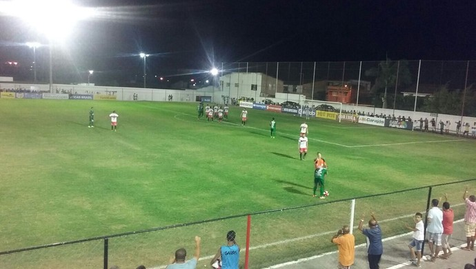 Santa Rita x Coruripe, Campeonato Alagoano (Foto: Agapitto Santana/ Coruripe)