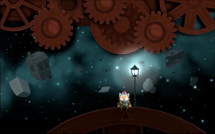 Em Chronology o jogador terá ajudar um inventor e um caracol a impedir um acidente catastrófico (Foto: Divulgação/osao games)
