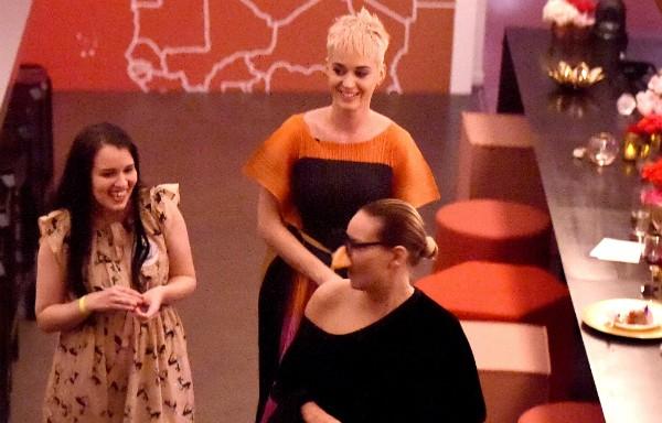 Sia pede para fã brasileira enviar recado aos brasileiros em reality de Katy Perry (Foto: Reprodução /  YouTube)