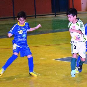 Futsal Roraima Sub-8 (Foto: Tércio Neto)