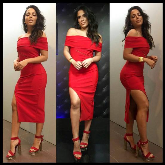 Anitta compartilha foto de look matador