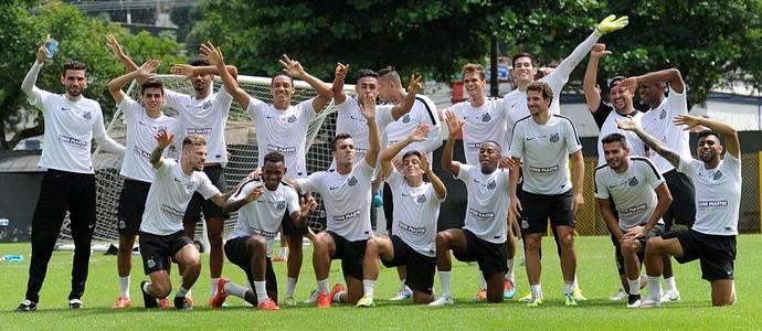 Santos treino (Foto: Ivan Storti / Divulgação Santos FC)
