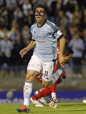 Charles atacante do Celta de Vigo (Foto: Arquivo pessoal)