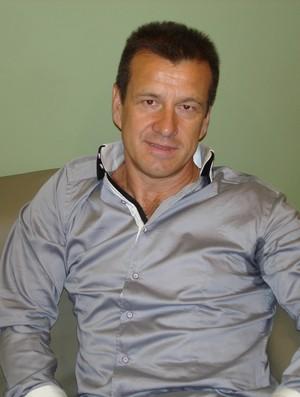 Dunga, no camarim do Altas Horas, na TV Globo (Foto: Rodrigo Faber/Globoesporte.com)
