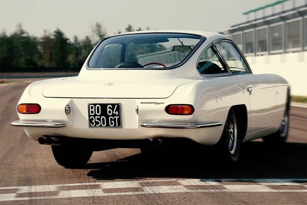 Design original do protótipo foi um pouco suavizado no 350 GT de produção (Foto: Divulgação)