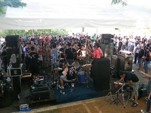 Cinco bandas na Rua do Rock Divinópolis (Foto: Assessoria da Prefeitura / Divulgação)