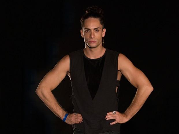 Rainer Cadete será o booker Visky em Verdades Secretas (Foto: Felipe Monteiro/Gshow)
