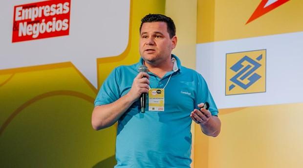 José Carlos Sardagna, cofundador e gerente de produto da ContaAzul (Foto: Renan Radici)