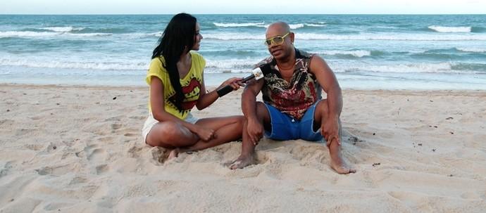 Cantor fala sobre nova fase da carreira e vinda à Fortaleza. (Foto: Se Liga VM)