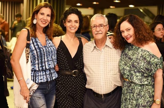 Carla Daniel, Claudia Ohana, Luiz Carlos Lacerda de Freitas e Thais de Campos (Foto: Divulgação)