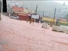 Chuvas deixam desalojados e cidades embaixo d'água no Sul de Minas