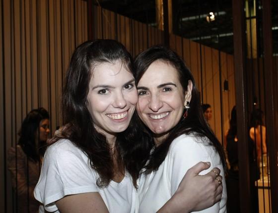 Barbara Herrmann e Anna Clara Tenenbaum, que comanda o Joia Brasil (Foto: Vera Donato)