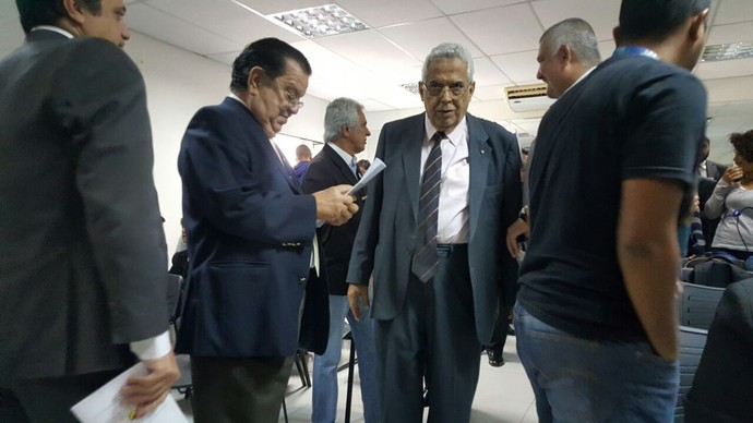 Eurico Miranda debate preconceito Vasco (Foto: Felipe Schmidt)