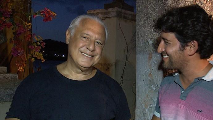 Ator Antonio Fagundes fala sobre a segunda fase de 'Velho Chico' (Foto: TV Bahia)