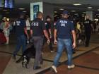 Operação no aeroporto e saídas de Salvador apreende drogas e munições