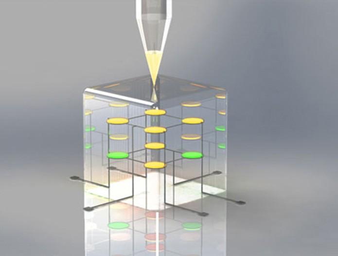Método de impressão 3D de LEDs pode ser usado na criação de outros tipos de componentes eletrônicos (Foto: Divulgação)