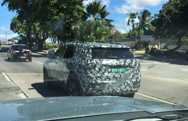 Flagra: Jeep Compass (Foto: Gustavo Machado)