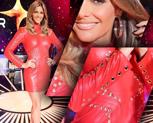 Fernanda Lima mostra look no SuperStar 2015 (Foto: Gshow)