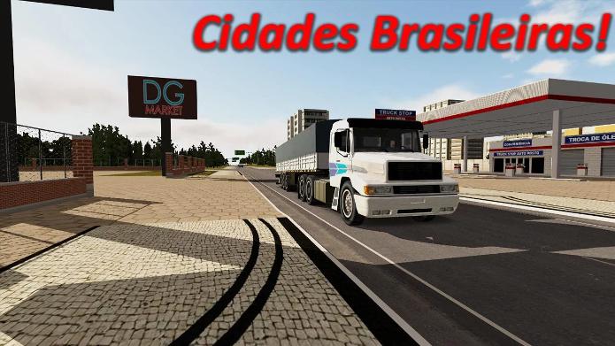 Heavy Truck Simulator traz várias estradas brasileiras (Foto: Divulgação/Dynamic Games)