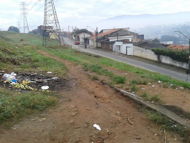 Adolescentes foram mortos no Jardim Camila (Foto: Carolina Paes/G1)